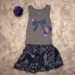 Girls skirt set from Children's Place